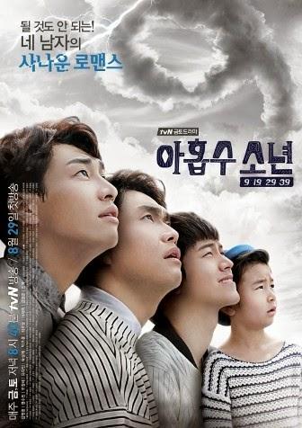 Links, recap, synopsis, sinopsis, drama korea, 2014, Plus Nine Boys, episode 1, 2, 3, 4, 5, 6, 7, 8, 9, 10, 11, 12, 13, 14, 15, 16.