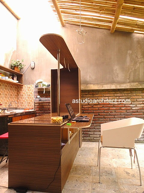 A diy weekend project cara membuat meja dapur gaya bar for Kitchen set yang sudah jadi