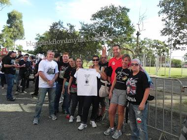 Na fila para show Roger Waters 2012