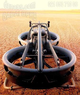 Sepeda Motor Terbang Aero-x  Pertama di dunia