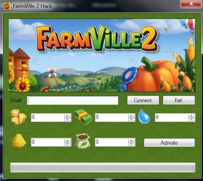 FARMVILLE 2 Facebook [pièces espèces eau semence nourrir]