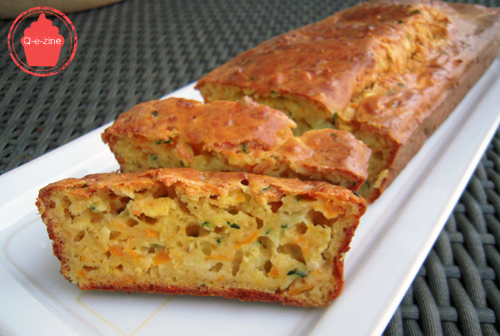 Cake Courgette Curry Emmenthal