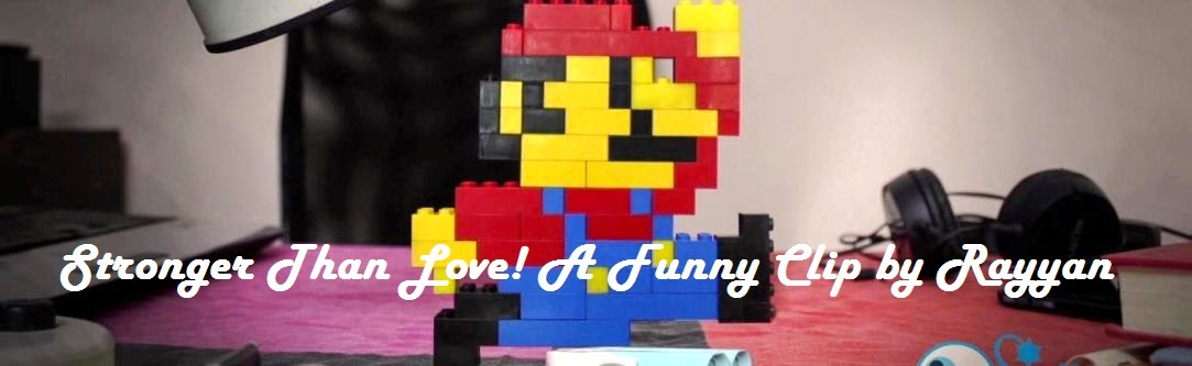 Stronger than Love! Lego Mario Movie.