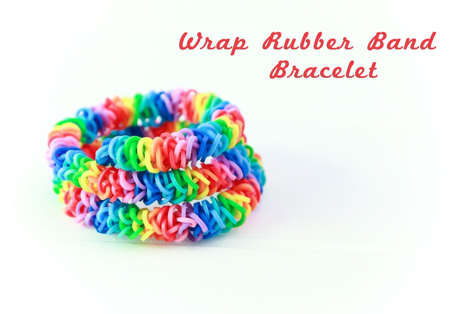 Wrap Rubber Band Bracelet @craftsavvy #craftwarehouse #rubberbandbracelets #loom #loombands #diy