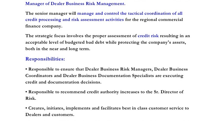 Financial Risk Manager - How To Get A Job In Risk Management - Jobs ...