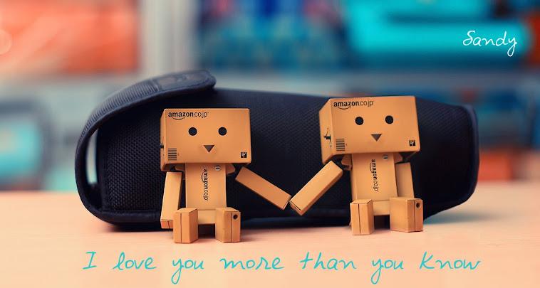 aku mencintai melibihi yang kamu rasa