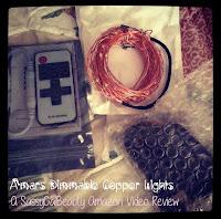 Amars Copper Customizable Lighting w/ Remote