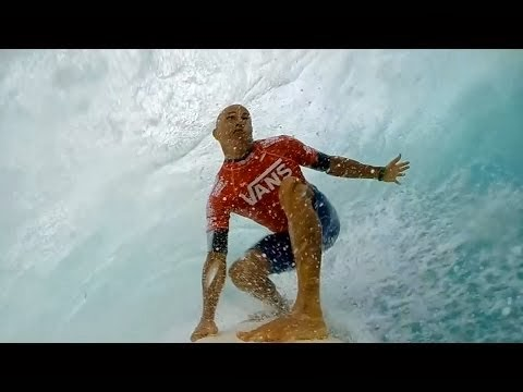 GoPro Kelly Slater s Left Barrel At Sunset Beach - Vans Triple Crown 2013