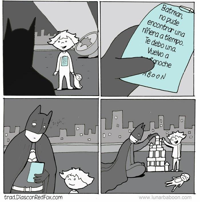 Como aprovecharse de Batman...