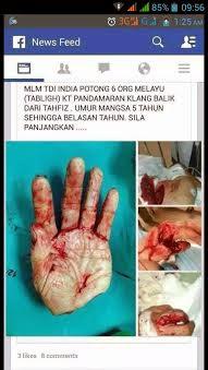 Pergaduhan di Kelang Semakin Ramai Yang Mahu Melihat Pertumpahan Darah Antara Kaum Di Malaysia