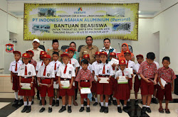 Pelajar Tanjung Balai Dapat Beasiswa PT Inalum (Persero)