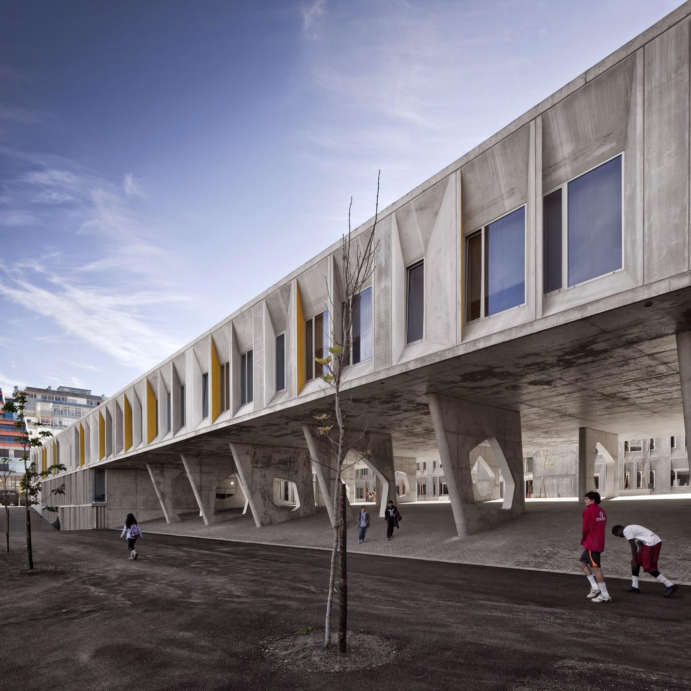 Arquitectura Zona Cero Ense Anzas De Hormig N Parque