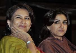 Saif's mother & sister