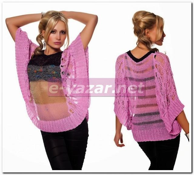 Yeni Moda Bayan Sweetshirt Modelleri