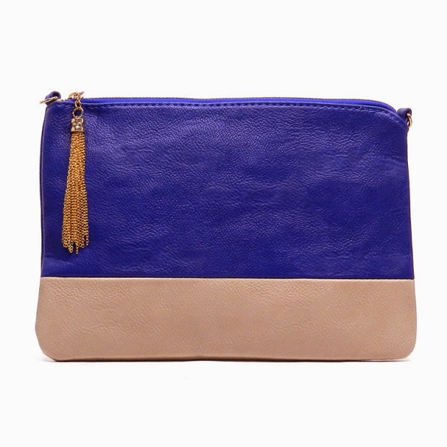 Colorblock  Clutch Pouch