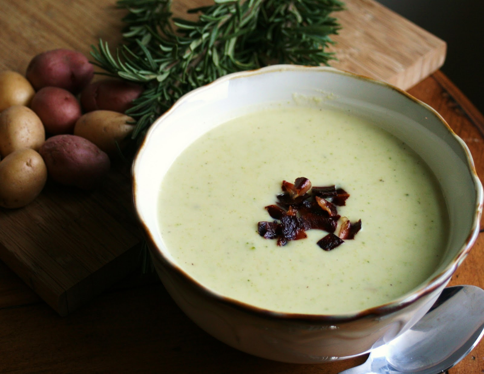 Thee Cook: Broccoli and Potato Soup