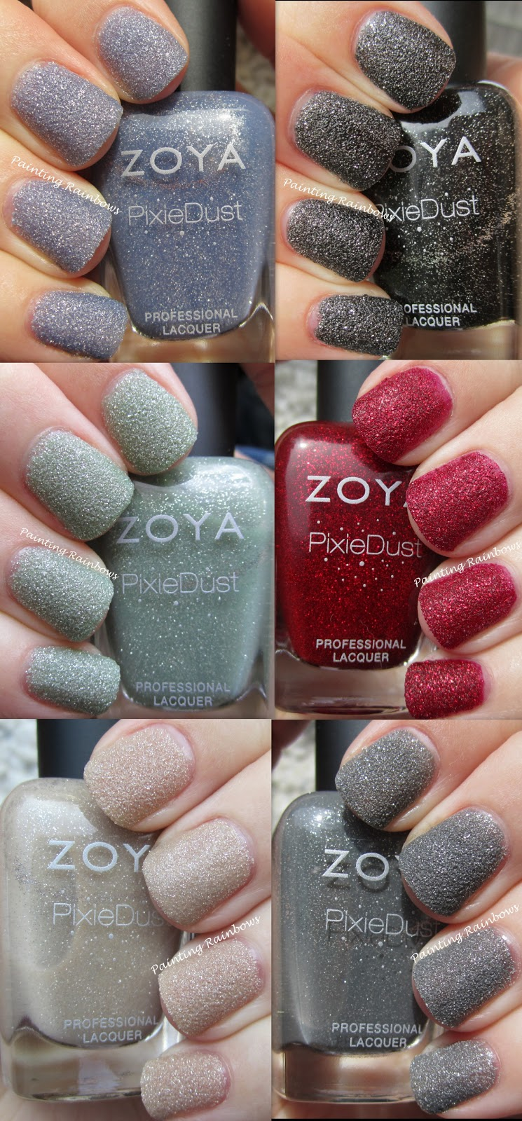 Pretty In Paint: Zoya Summer Pixie Dust Collection