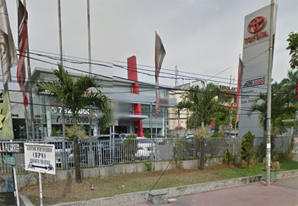 TOYOTA Auto2000 Lenteng Agung, JAKARTA Selatan