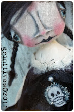 Raven Goth Doll