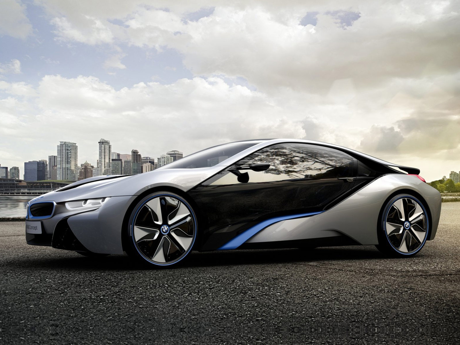 2011 bmw i8 concept car desktop wallpapers features. Black Bedroom Furniture Sets. Home Design Ideas