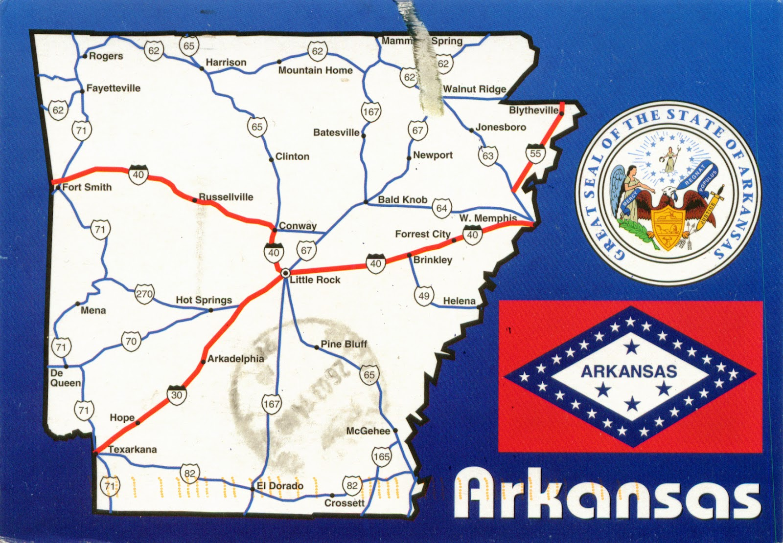 Quapaw Arkansas Map Pictures To Pin On Pinterest PinsDaddy - United states map arkansas