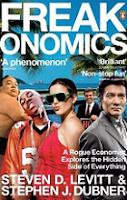 Freakonomics by Steven D. Levitt & Stephen J. Dubner book cover