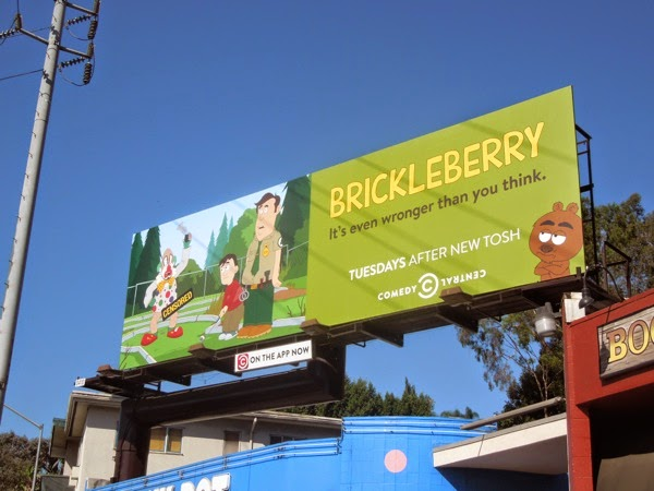 Brickleberry season 3 billboard