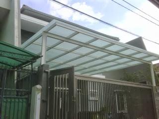 Pasang canopy rumah murah di cikampek