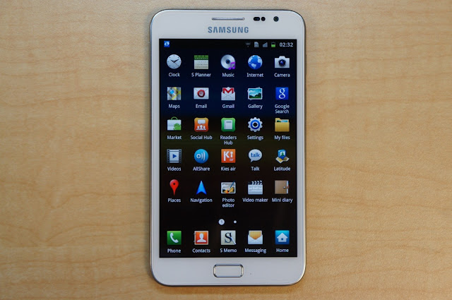 samsung galaxy note I9220 GT-N7000 N7000 white