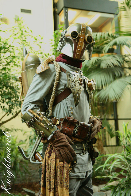 Cosplay Steampunk de Boba Fett - Star Wars