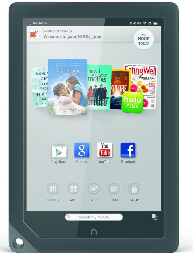 Nook HD or Kindle Fire HD: Nook tablets come with distinct advantages