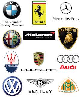 rare car logos