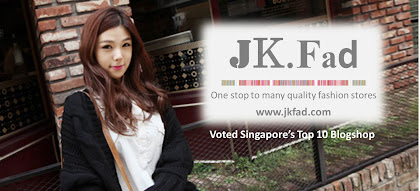 JK Fad - Singapore's Leading Online Fashion Clothing Blogshop