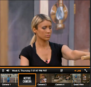 ... and today ginamarie. Andy BB15 . Live feeds was day video to reality