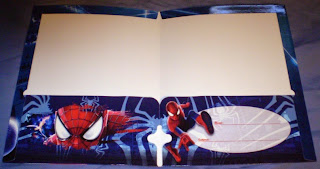 Centerfold of Amazing Spider-Man portfolios 2014 edition #2