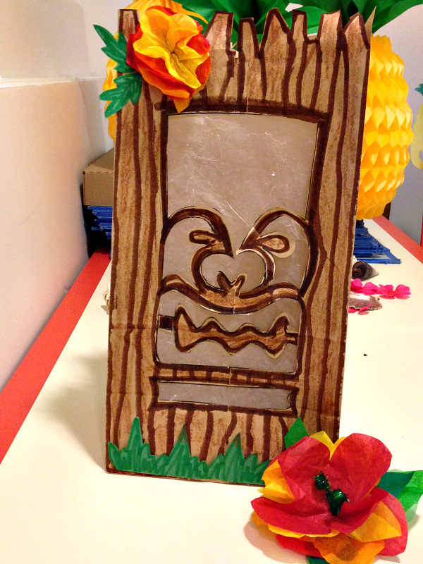 tiki crafts | a review of Animate Your Night: Choose Your Own Adventureland at The Walt Disney Family Museum
