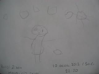 çocukların çizdiği resimler