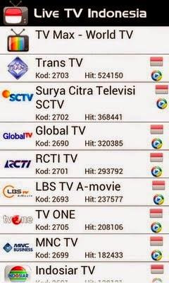 Nonton TV Online di Android
