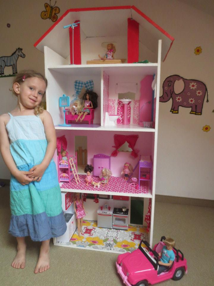 Felinchens wohnhaus barbie - Barbie haus mobel selber bauen ...
