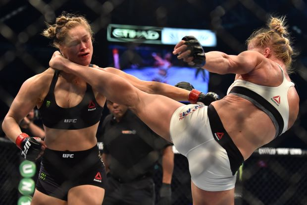 Ronda Rousey Finally Lost I Didnt Want Her To Id Hopped On Her Bandwagon A Long Time Ago And I Wanted To Hang On Tight As I Rode It All The Way