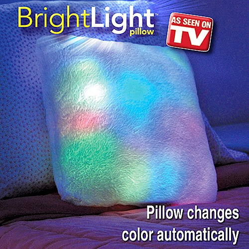 Bright Light Pillow square