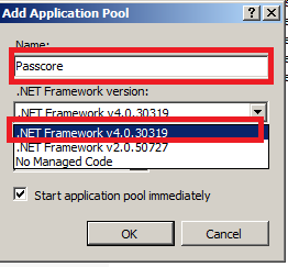 how to get application pool name