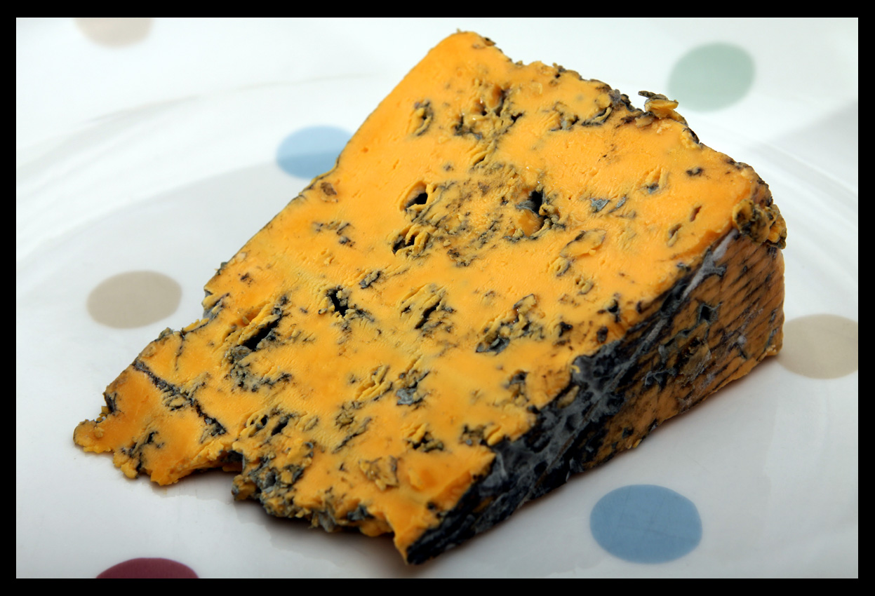 The Mighty Cheeseboard CHEESE OF THE DAY BUTLERS BLACKSTICKS BLUE