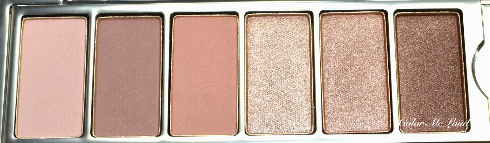 Close-up of Neutrals from Lancôme My Paris Eye Shadow Palette