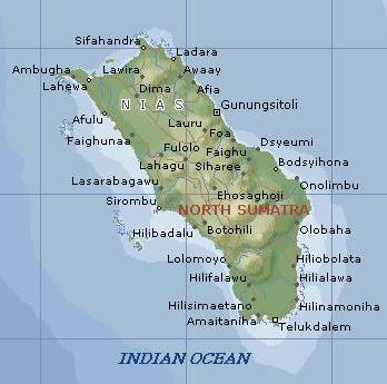 Peta Pulau NIAS