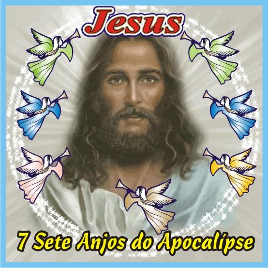 Jesus e Os 7 Anjos do Apocalípse