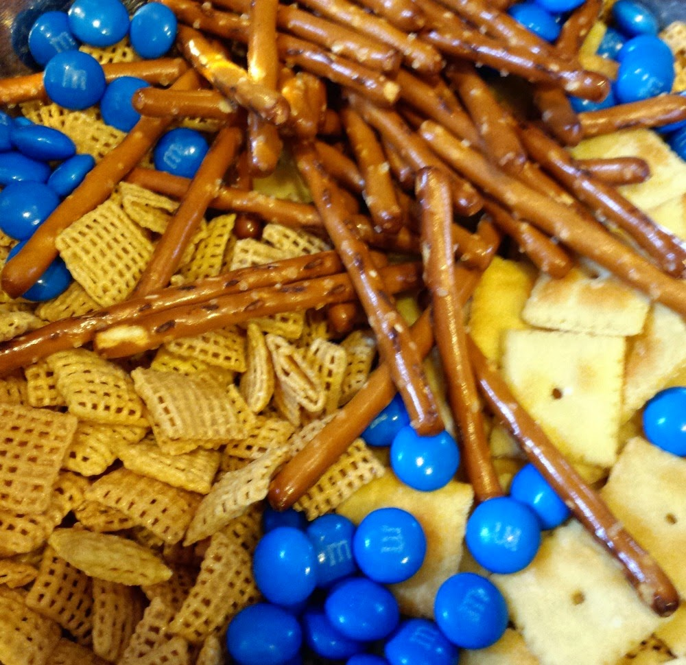 Frozen Snack Mix