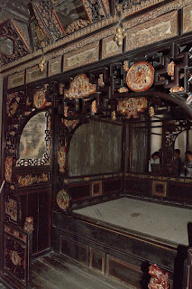 Ancient bed museum in Wuzhen, China