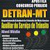 Apostila Concurso DETRAN MT Auxiliar do Serviço de Trânsito 2015