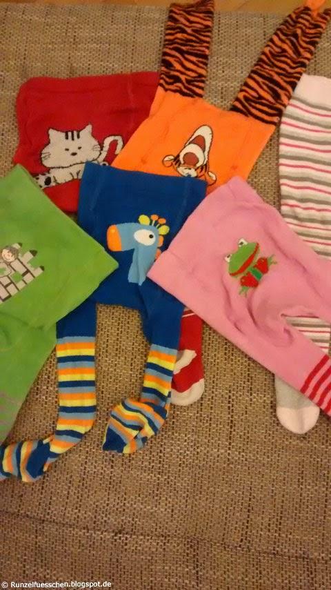 Strumpfhosen für Babys Runzelfuesschen